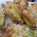 zucchini blossoms fried